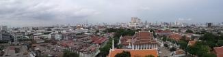Bangkok Skyline From The Golden Mount