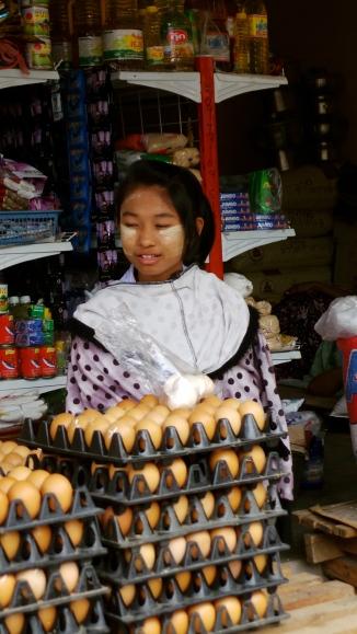 Adorable Egg Seller