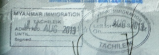 Another Stamp For The Passport