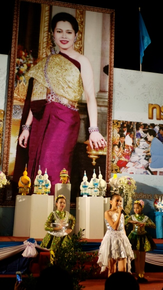 Celebrations in Chiang Mai for Queen Sirikit's Birthday