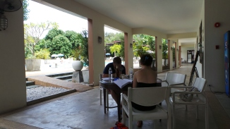Final Exam Poolside