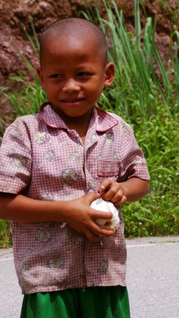 The Children Of Pakbeng Were Wonderful