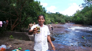 I am Offered a Beer - Suoi Da Ban, Phu Quoc