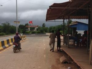 Cambodia / Vietnam Border Crossing at Ha Tien