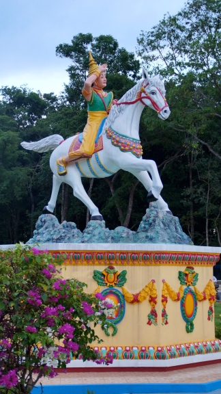 Statue in Front of Cao Dai Temple