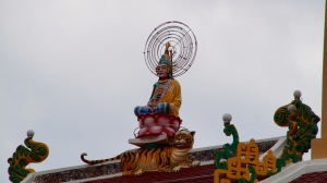 Buddha Sits Atop the Cao Dai Temple