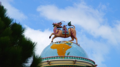 More Rooftop Decoration - Cao Dai Temple