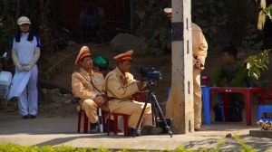 Police Checkpoint (with Radar) in Vietnam