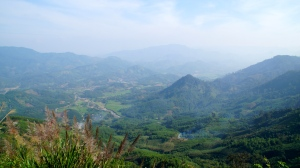 Views from atop QL24 - Central Highlands, Vietnam