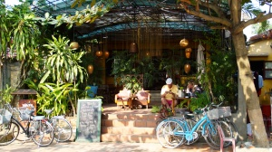 One of Many Quaint Cafes in Hoi An, Vietnam