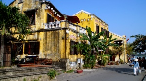 French Architecture - Hoi An, Vietnam