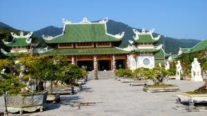 Courtyard of the Linh Ung Pagoda - Da Nang, Vietnam