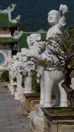 Statues in the Courtyard - Linh Ung Pagoda - Da Nang, Vietnam