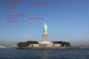 Lady Buddha vs. Statue of Liberty